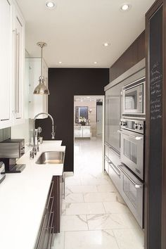 galley - if necessary - contemporary kitchen by Arnal Photography