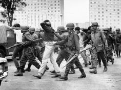Protests of 1968 | The youth movement, led in large part by students from UNAM, had ...