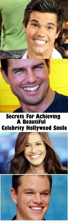 Natural Tooth Whitening Ideas: Secrets For Achieving A Beautiful Celebrity Hollywood Smile