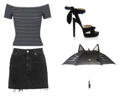 Sexy Outfits by rebecca-shosey on Polyvore featuring Miss Selfridge, Topshop and Jimmy Choo