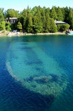 ship wreck. These are the wrecks in such shallow waters that they become dangerous to boating traffic.