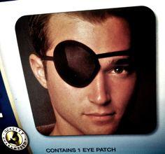 Eyepatch man.