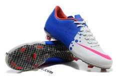 Nike Mercurial Vapor VIII FG - White-Blue-Pink 9b2d29ec1478d