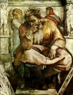 Religious Artist: The Prophet Jeremiah (1508-1512)