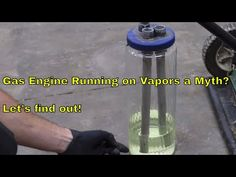 Is Using Gas Vapor to Power an Engine a Myth? Let's find out! - YouTube