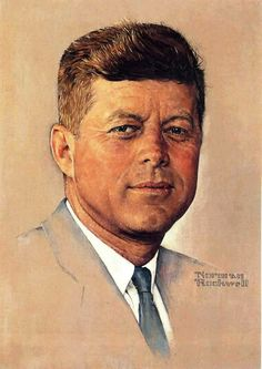 Kennedy by Norman Rockwell