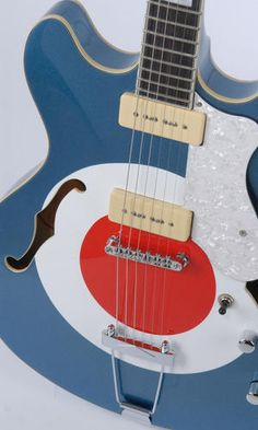 Mod Carnaby Guitar. Like the paint