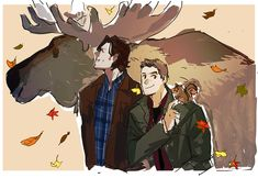 - We have indeed fallen far moose and squirrel