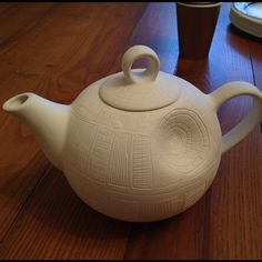 Death Star Teapot You have no idea how badly i want this...