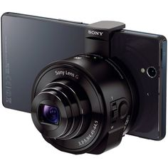 Sony 18 MP Smartphone Attachable Lens-Style Camera, Black