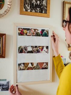Calendar--I'm thinking I can scan pictures of my favorite seasonal recipes as a helpful reminder of what to make....FANTASTIC!
