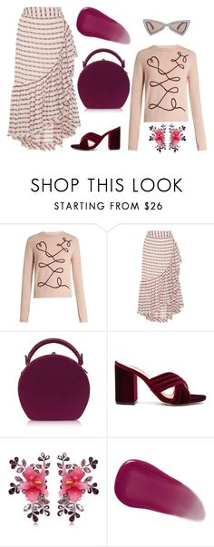 """""""Untitled #9842"""" by cherieaustin ❤ liked on Polyvore featuring Roksanda, Ulla Johnson, Bertoni, Raye, Dsquared2, Givenchy and Yves Saint Laurent"""