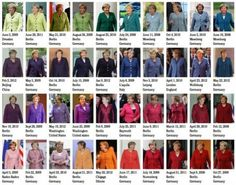 Merkel Pantone