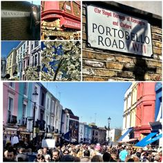 Portobello Market in London  Hitting the Markets [1000 Places To See Before You Die]