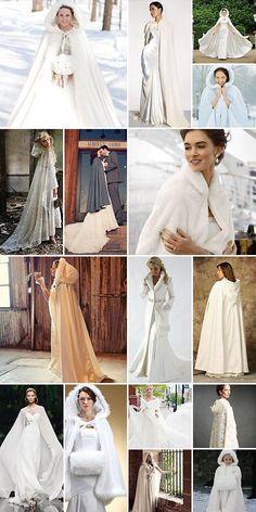 bridal dress hochzeit cape winter 15 beste Outfits