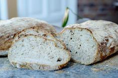 Fint brød med litt rugmel