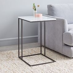 Shop accent table from west elm. Find a wide selection of furniture and decor options that will suit your tastes, including a variety of accent table. Pedestal Side Table, Glass Side Tables, White Side Tables, Glass Table, Rustic Side Table, Modern Side Table, Furniture Decor, Modern Furniture, Deck Furniture