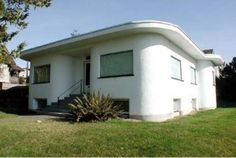 Art Moderne Bungalow - Photo courtesy the homeowner,.  Haven't found the plans yet