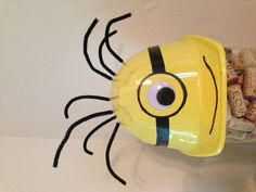 Despicable Me - Minion party hat!  https://www.etsy.com/listing/127463222/despicable-me-birthday-partyplay-hat-or?