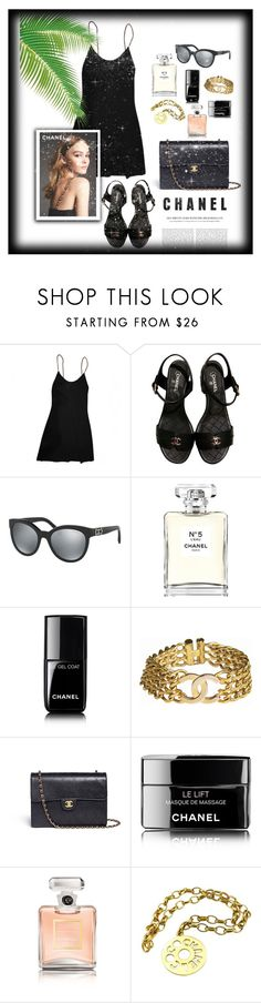 """""""Chanel✨"""" by queen-bellaa ❤ liked on Polyvore featuring Chanel"""