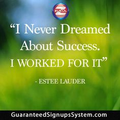 ***Having Trouble Getting Sign Ups? NOT ANY MORE*** http://GuaranteedSignUpsSystem.com/ One Team - One Mission - One Link  *** Change Your Tomorrow Right Now & Join Our Team *** This is Truly a Fantastic System of Team Work!  http://guaranteedsignupssystem.com/ Will Work For Everyone!