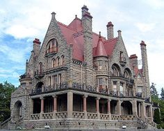Craigdarroch Castle in Victoria, British Columbia, is a historic, Victorian-era Scottish Baronial mansion.