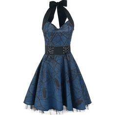 Dark Crow - Medium-length dress by Vixxsin