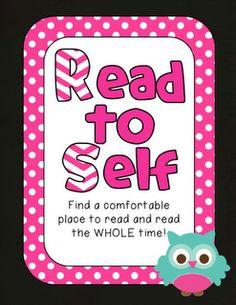 Mandy's Tips for Teachers: Daily Five Freebie  OWLs