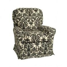 Little Castle Cottage SS Glider with Slipcover - 21SS\ SC - Gliders - Nursery Furniture - Baby & Kids\' Furniture - Furniture