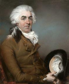 John Russell - Portrait of George de Ligne Gregory [1793]