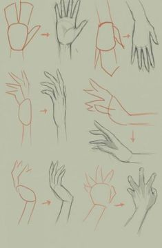 Drawing anime hands step by step ideas for 2019 - Art Sketches Hands Reference Drawing, Drawing Anime Bodies, Hand Reference, Manga Drawing, Drawing Tips, Drawing Techniques, Drawing Sketches, Drawing Hands, Drawing Ideas