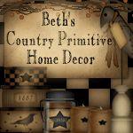 Beth's Country Primitive Home Decor