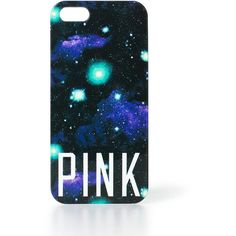 Victoria's Secret PINK Hard iPhone® Case ($6.99) ❤ liked on Polyvore featuring accessories, tech accessories, phone cases, phone, iphone, cases, iphone cases, apple iphone cases, iphone cover case and iphone sleeve case