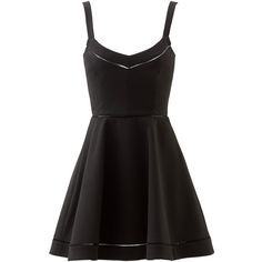Rental Elizabeth and James Cecil Dress ($70) ❤ liked on Polyvore featuring dresses, vestidos, short dresses, black, full skirt, black cocktail dresses, sleeveless dress, short sleeveless dress and black sweetheart neckline cocktail dress
