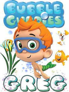 Personalized Custom NAME T-shirt Bubble Guppies Nonny