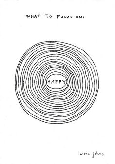 What to focus on: HAPPY | Marc Johns
