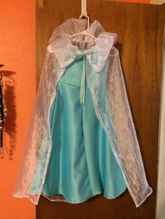 Frozen Elsa costume !!