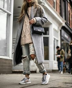 trends, fashion, easy fashion, melbournestyle, stylehunter, todayiwore, trainers, shoes, heels, white, 1990 Winter outfits; Fall outfits; winter outfi... -  - #winteroutfits