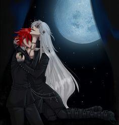 Black Butler ~~ Grell and Undertaker fanart