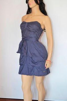lindo modelo de vestidos tomara que caia balonê
