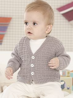 Diy Crafts - Little Party Knits This book is jam packed with 16 adorable designs for Boys Knitting Patterns Free, Baby Cardigan Knitting Pattern Free, Baby Sweater Patterns, Knitting For Kids, Baby Boy Cardigan, Knitted Baby Cardigan, Fashion Design For Kids, Baby Sweaters, Crochet Baby