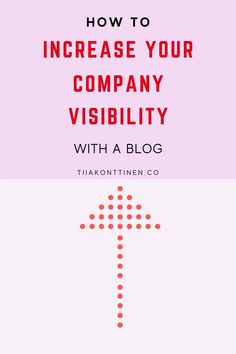Do you feel you get enough visibility to your company? Do your customers find you easily? Are you wondering how to increase your company's visibility with a company blog? Blogging Coach Tia Konttinen reveals her tips. #blogging #blog #business #tiiakonttinen I Can Do It, Get To Know Me, Do You Feel, To Tell, How Are You Feeling, Change Is Coming, Content Marketing Strategy, Blog Topics, Google Ads