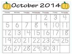These calendars are great for use as morning work, homework, and math center work. They can be   copied for each child or laminated and used with dry-erase markers. 5 pages of calendar practice are included for each month: August 2014-July 2015.   Differentiation is a snap with these calendars as well! My students all start off tracing the first calendar and as the month goes on, I start giving different calendars to different kiddos depending on their skill level.