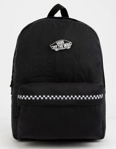 Shop Tillys for cool Backpacks! With so many options, you'll find the backpack that's right for you. Vans Backpack, Black Backpack, Backpack Bags, Black School Bags, Vans Bags, Diana, Disney Themed Outfits, Bags For Teens, Boys Backpacks