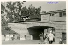 Saw horses @ a train station - Perfect! Disneyland Rides, Hong Kong Disneyland, Vintage Disneyland, Disneyland Resort, Disneyland Paris, Disney Love, Disney Magic, Disney Theme, Disney Stuff