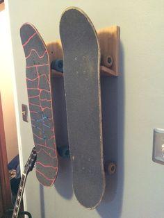 COR #bamboo #skateboard #rack
