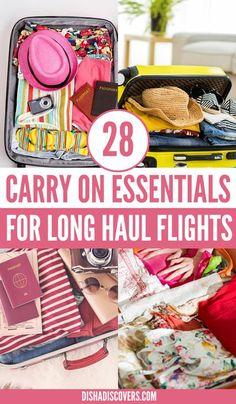 Are you going on a long haul flight soon? Here is a guide for long haul flight essentials and a packing list. It also includes long haul flight essentials tips plus long haul flight essentials products to bring with you. | long haul flight essentials | long haul flight tips | long haul flight essentials packing list | long haul flight essentials carry on | #LongHaulFlightEssentials #PackingList Solo Travel Tips, Packing List For Travel, Travel Info, Packing Tips, Travelling Tips, Budget Travel, Long Haul Flight Tips, Travel Items, What To Pack