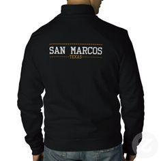 San Marcos Texas USA Embroidered Jackets