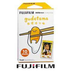 Fuji Fujifilm Instax mini film Gudetama 10 Photos for Mini 8 90 50 camera UK Instax Mini 8 Film, Polaroid Instax Mini, Fujifilm Instax Mini 8, Instant Camera, Card Sizes, Brand Names, Fuji Film, Ebay, Polaroids