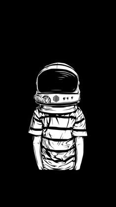 B&W VECTOR on Illustration Served: human body, astronaut head Space Man, Graffiti, Space Illustration, Astronaut Illustration, Illustration Wallpaper, Belle Photo, Vector Art, Art Drawings, Space Drawings